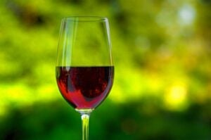 Red wine is a source of nitric oxides