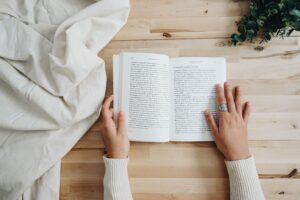 reading hobbies for people with anxiety