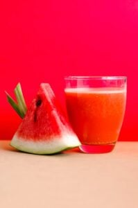 Watermelon Juice- Foods High In Nitric Oxide