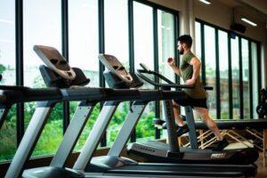 treadmill runing