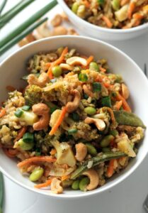 Vegan foods during diet plan
