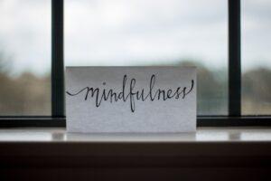 mindfulness sun salutations
