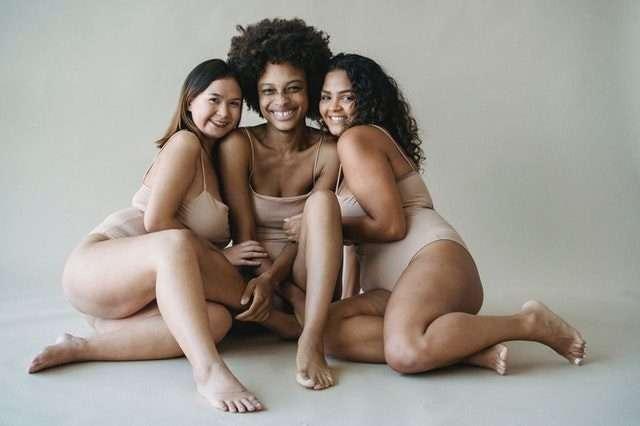 3 body types female