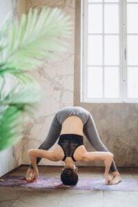 hot yoga pose