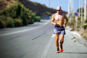 Coffee before running