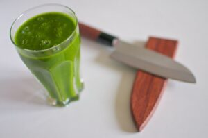 Mango-Carrot-Spinach Smoothie