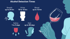 How long alcohol can stay in your system
