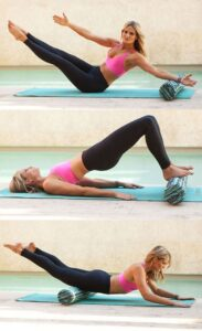 3 Ways to Sculpt Your Body With Your Foam Roller