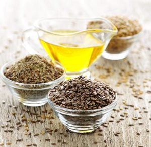 Flaxseed Oil For Treatment Of Split-Ends