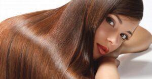 use glossy hair