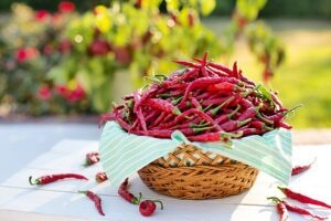 Cayenne Peppers acts as natural muscle relaxers