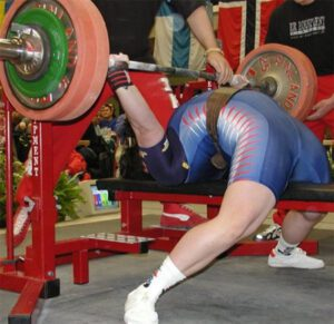 arched back bench press