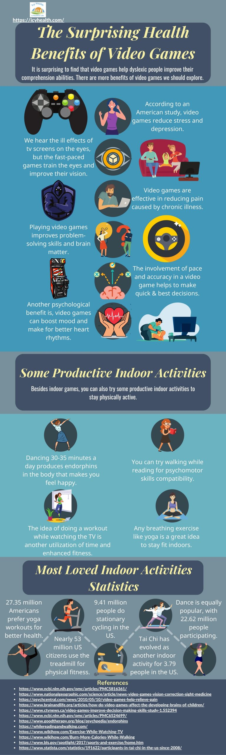 The Surprising Health Benefits of Video Games