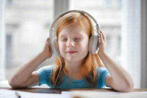 listening to stories