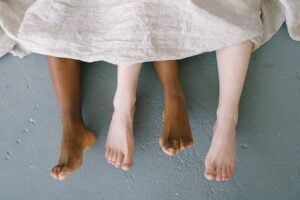 Different types of feet
