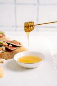 Honey heals wounds and burns