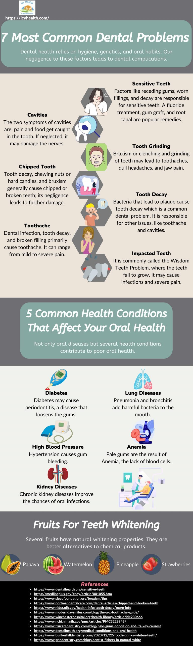 7 Most Common Dental Problems