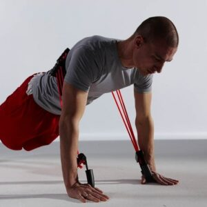 Resistance-Band-Push-Up -chest exercises with bands