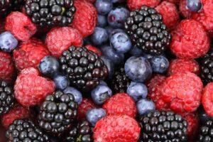 Top natural foods are berries