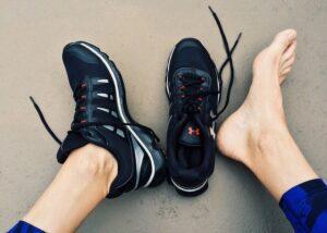 Heel pain after running