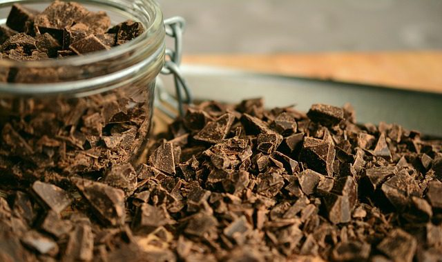 food that causes sinus - chocolate