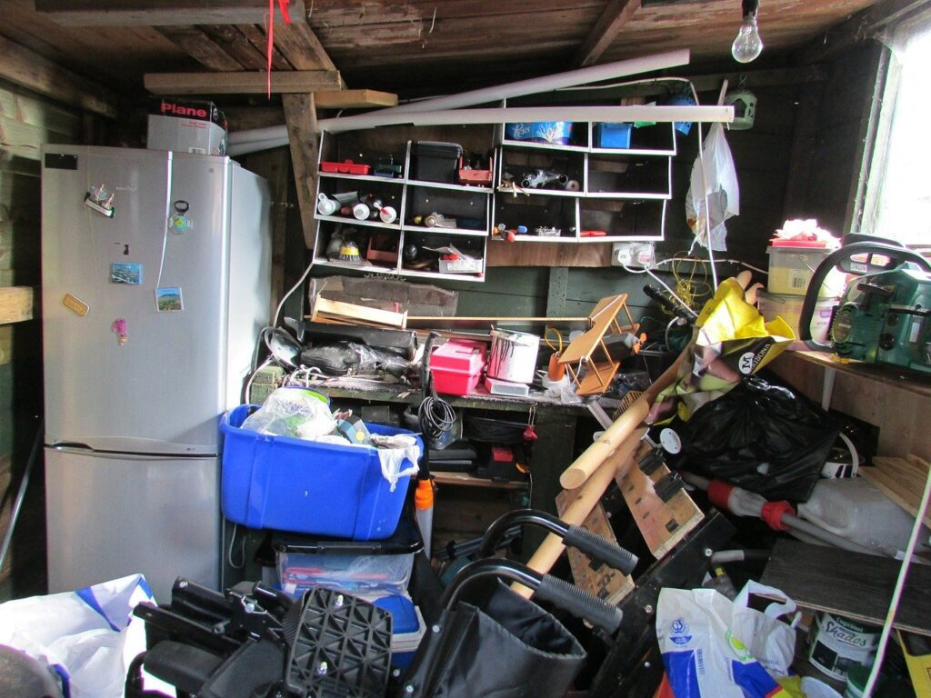 5 stages of hoarding
