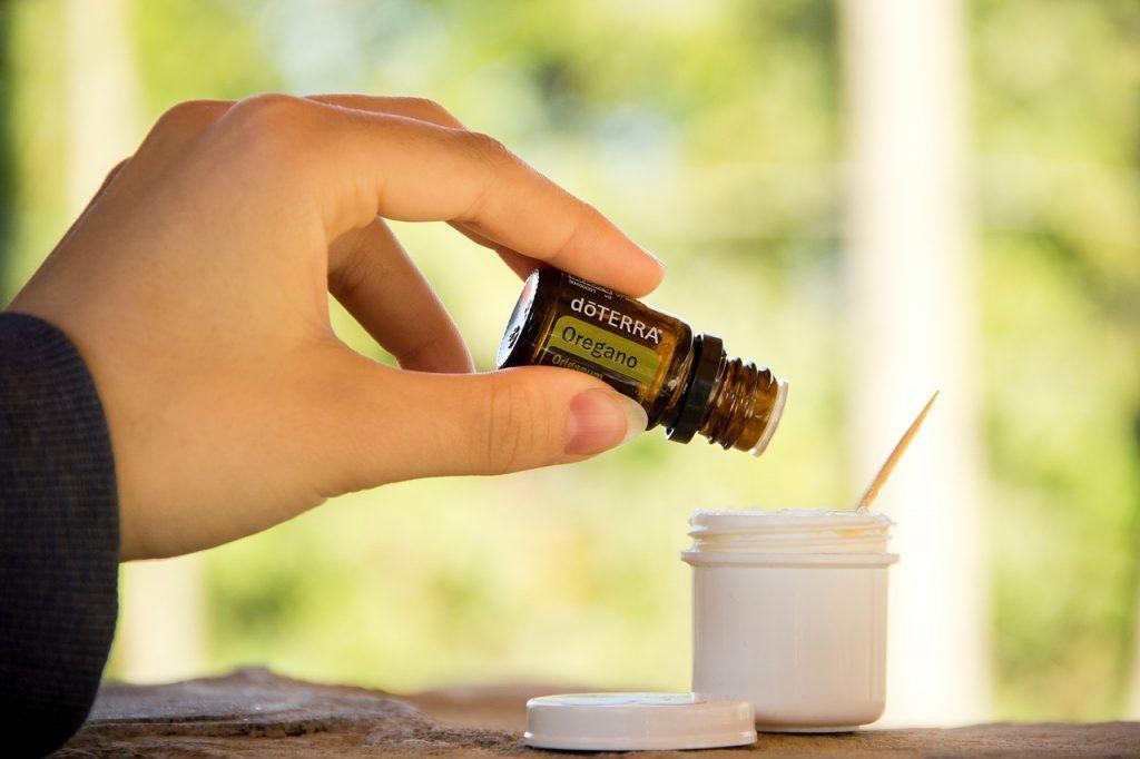 Essential oregano oil
