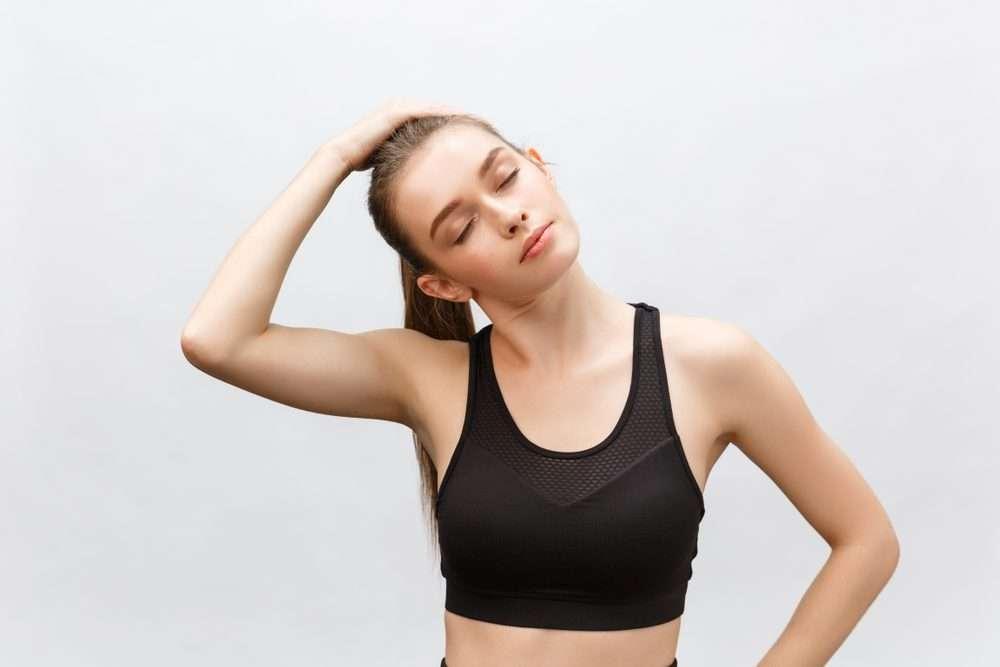 neck side stretch