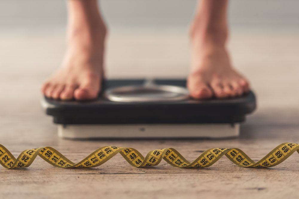rapid fluctuations in weight